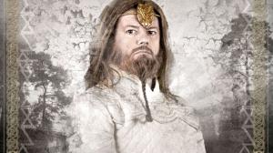 Jacques Chambon dans le rôle de Merlin