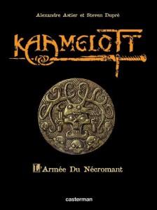 Couverture de l'édition de luxe du tome 1 : L'Armée du Nécromant