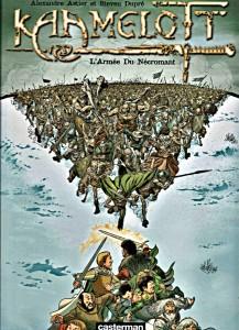Couverture de l'édition classique du tome 1 : L'Armée du Nécromant