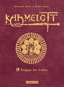Couverture de l'édition de luxe de L'Énigme du Coffre