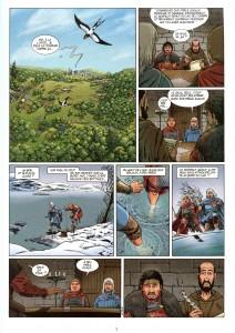Le Serpent Géant du Lac de l'Ombre − page 1