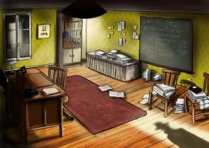 Illustration du projet : bureau du Professeur Lacroix