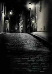 Illustration du projet : rue parisienne de nuit