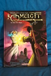 Sortie du tome 6, Le Duel des Mages : la couverture