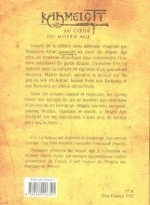 Kaamelott : À la table du roi Arthur, 4ème de couverture