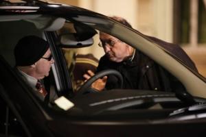Didier Bénureau et Philippe Carrese durant le tournage de Cassos
