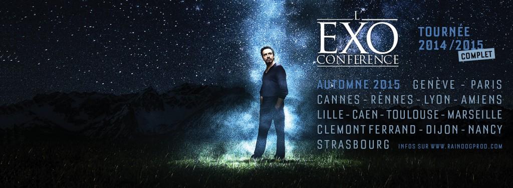 Les nouvelles dates de L'Exoconférence